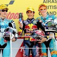 GP125 - Grande Bretagne D.3: Marquez fait coup double