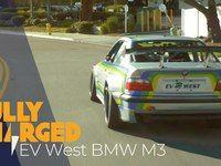 La transformation d'une BMW M3 en électrique démontre de belles possibilités