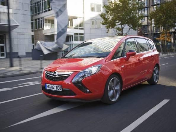 L'Opel Zafira Tourer disponible en version 200 ch essence en Allemagne
