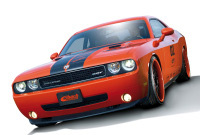 Dodge Challenger by Eibach, l'ora(n)ge mécanique