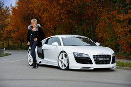 L'air, pas la chanson : kit R8 V10 Rieger pour Audi R8 V8
