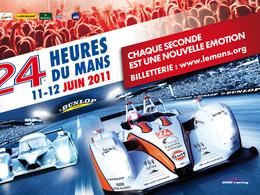 Toutes les affiches des 24 Heures du Mans 2011
