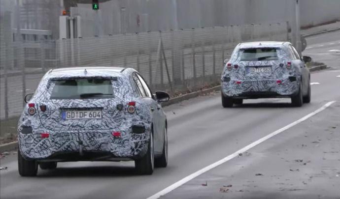 La future Mercedes Classe A prend la route