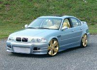 BMW 330d : Elle roule sur l'or
