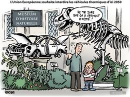 Le dessin du jour - Le thermique prêt pour le musée en 2050