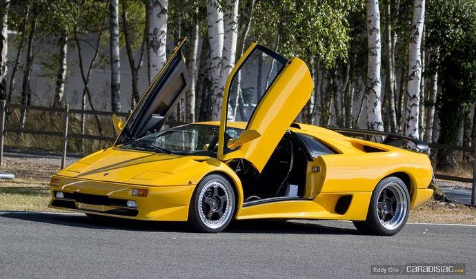 Photos du jour : Lamborghini Diablo SV (Rallye Supercar)