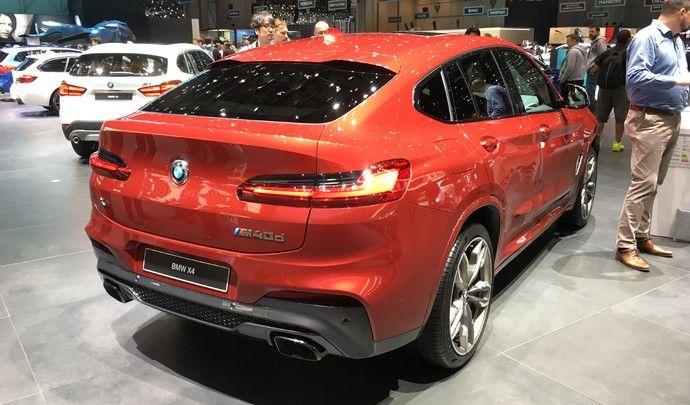 BMW X4 : coupé moins décalé - Vidéo en direct du salon de Genève 2018