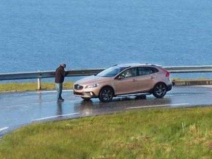 La Volvo XC40 surprise sans camouflage