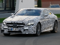 Surprise : la future Mercedes S63 AMG Coupé
