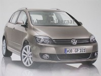 Nouvelle Volkswagen Golf Plus: les 2 1ères photos officielles!