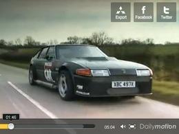 Fifth Gear : une Rover SD1 avec un moteur de Spitfire de 27 litres !