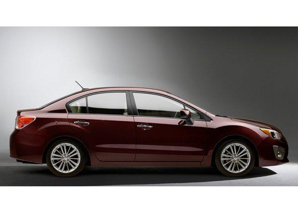 New-York 2011 : voici la nouvelle Subaru Impreza