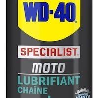 WD-40: un lubrifiant chaîne disponible