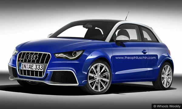 Audi RS1 par T.Chin : belle improbable