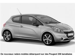 Radars mobiles : les Peugeot 208 flashent dans les deux sens