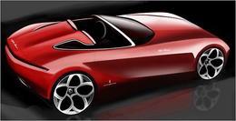 Genève 2010 : Pininfarina imagine un Alfa Duetto Spider 2010