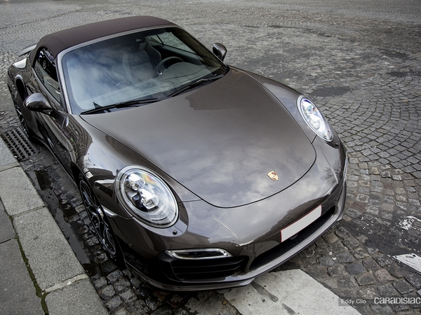 Photos du jour : Porsche 911 991 Turbo S Cab