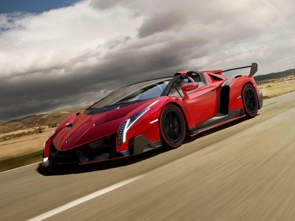 Nouvelles Lamborghini Veneno Roadster: 1ères images