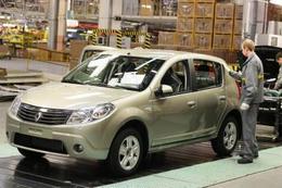 Renault augmente ses capacités de produciton à Moscou et lance la Sandero en Russie