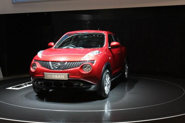 Nissan Juke : en direct de Genève