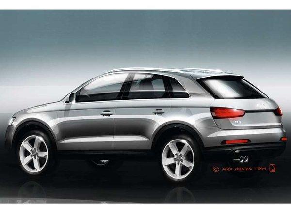 Shanghai 2011 : voici l'Audi Q3