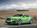 Salon de Genève 2015 - Bentley Continental GT, mises à jour