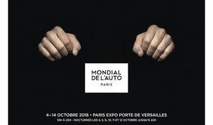Mondial de l'auto 2018 : une affiche qui fait hurler les irréductibles pour mieux séduire les autres
