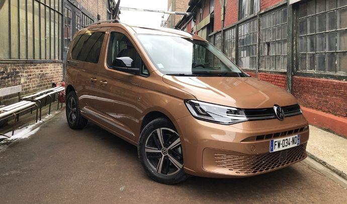 Essai vidéo - Volkswagen Caddy 5 (2021) : le Caddy de Golf