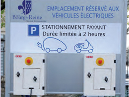 Deux bornes de recharge pour véhicules électriques dans la Ville de Bourg-la-Reine