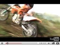 Vidéo Motos : KTM présente ses modèles Off Road pour 2010