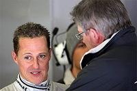 """F1-Ross Brawn: """"Schumi n'a pas changé !"""""""