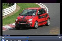 Future Fiat 500 Abarth: en photo c'est bien, en vidéo c'est encore mieux.