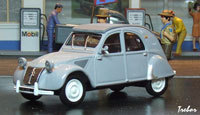 Miniature : 1/43ème - CITROËN 2cv AZL