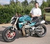 Dark Dog Moto Tour 2009 : Voxan, la VX10 et Davy Gambino, bien présents...