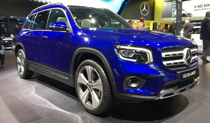 Mercedes GLB :et de huit ! - Vidéo en direct du salon de Francfort 2019