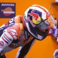 Moto GP - Qatar D.1: Les images de l'accrochage Rossi-Pedrosa