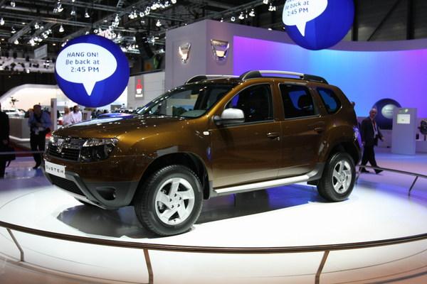 Dacia Duster en direct de Genève : à partir de 11 900 € : imbattable