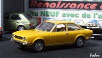 Miniature : 1/43ème - FIAT 124 coupé