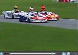 Vidéo : Barrichello se venge de Schumacher ... en karting