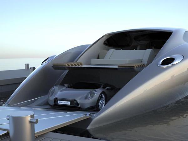 StrandCraft 122 : un superyacht pour garer sa supercar