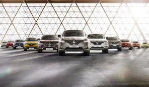 Le marché européen en hausse de 6,8% en 2016, Renault de nouveau vice-champion