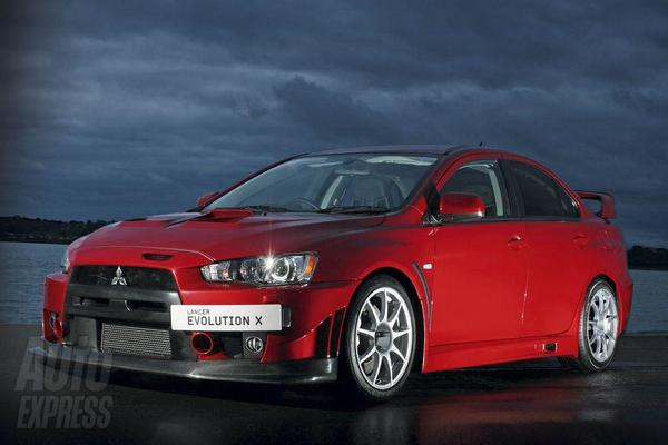 Nouvelle Mitsubishi Evo X FQ-400 : UK only, encore