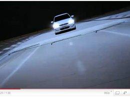 Lancement Hyundai Accent : de la pub grand spectacle