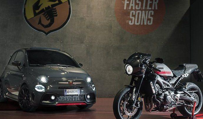 Yamaha XSR900 Abarth : le café racer à l'effigie d'Abarth arrive à la commande avec un programme spécial