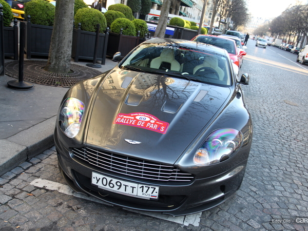 Photos du jour : Aston Martin DBS By Edo Competition (Rallye de Paris)