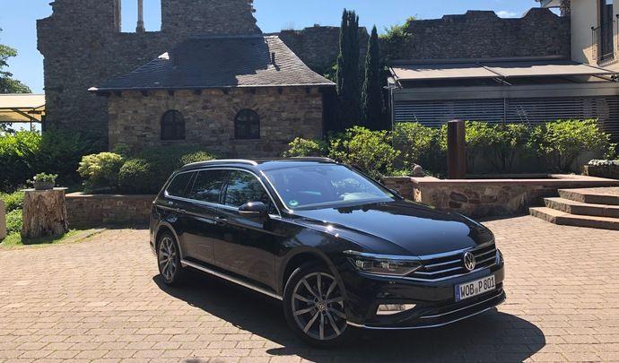Volkswagen Passat restylée (2019) - Les premières images de l'essai en live