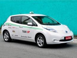 Nissan Leaf : testée comme taxi à Sao Paulo