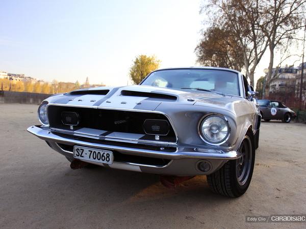 Photos du jour : Mustang Shelby GT 350 (Rallye de Paris Classic)
