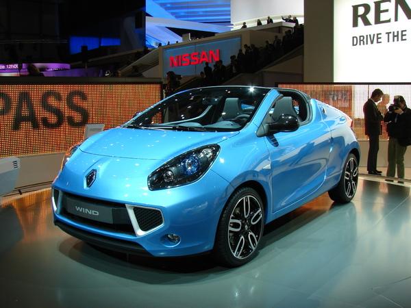 Genève 2010 : Renault Wind, à partir de 17 500 € [ajout video]