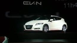 [Vidéo] Genève 2010 Live : Honda CR-Z, hybride sur tous les points
